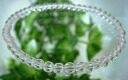 AA grade natural quartz bracelet 4 mm