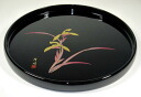 Height of 30cm round tray picture orchid