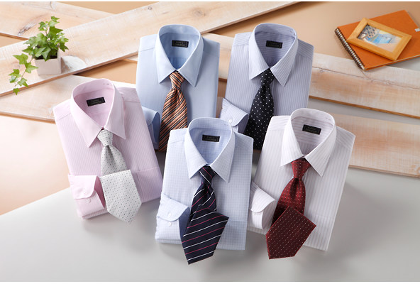 Yシャツネクタイ安いセット