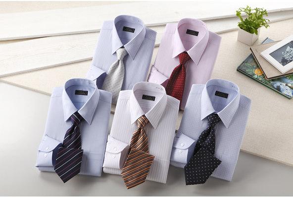 銀座・丸の内のOL100人が選んだワイシャツ&ネクタイセット