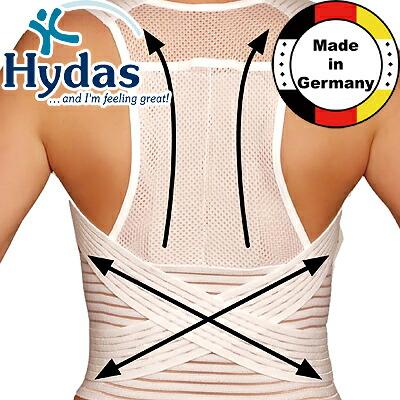ハイダス背中サポートベルト Hydasドイツ製