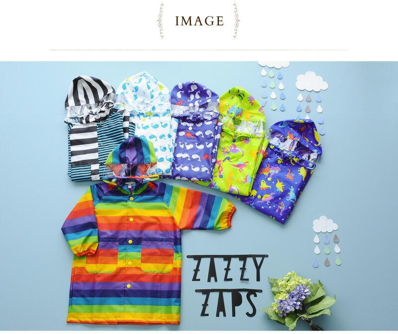 Zazzy Zaps(ザジーザップス) レインコート 6771852