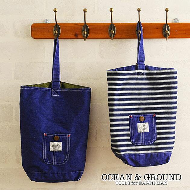 OCEAN&GROUND(オーシャンアンドグラウンド) シューズBAG BLUE BLUE