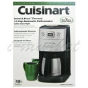 CUISINART Cuisinart automatic coffee maker 10 Cup DCC-650PCJ for