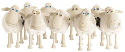 サータキャラクター羊