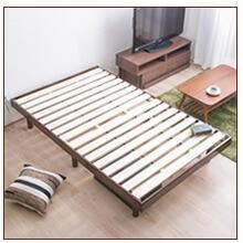 パイン材木製ベッドセミダブル