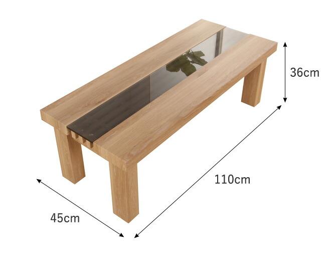 幅110cm テーブル