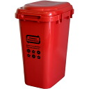 High-capacity waste bin ジョイントペール 45L red 05P24jul13