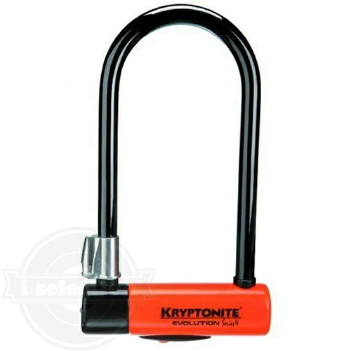 ny u kryptonite evolution series 4 standard bicycle u lock lk4100 i selection. Black Bedroom Furniture Sets. Home Design Ideas