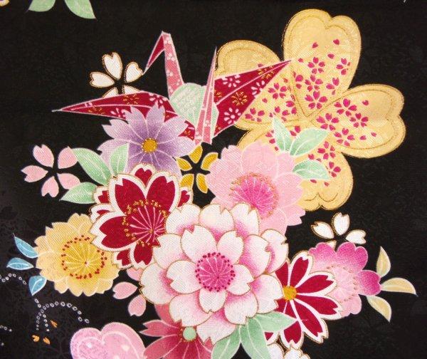 手绘和服花纹# 138_中国风手绘边框花纹