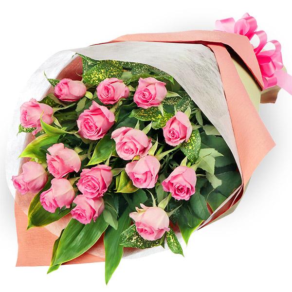 ピンクバラの花束511736|ホワイトデー