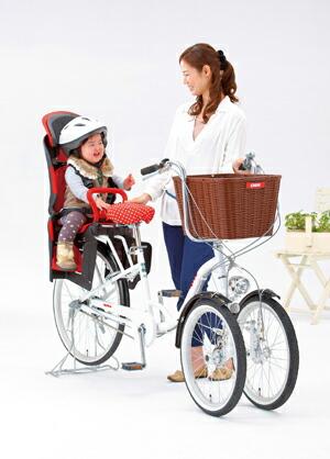 自転車の 自転車 三輪 前 : (アップリカ) 前カゴ付き三輪 ...