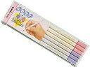 ◆ Mitsubishi pencil Unister triangular shaft pink places 2B