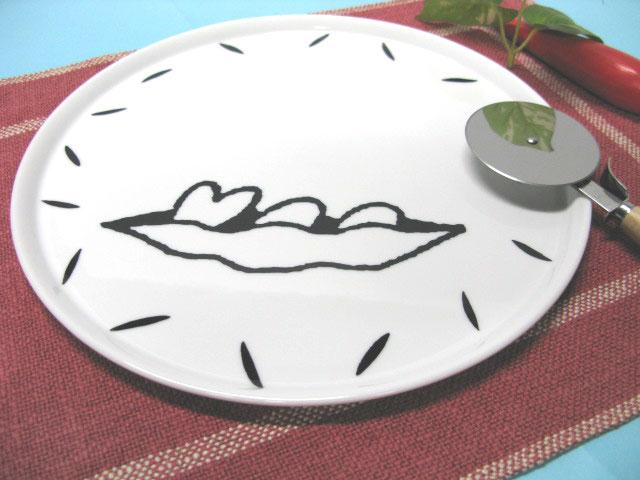 ハートギャラリーピザ皿セット