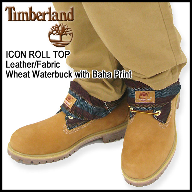 mens timberland roll top baha boots