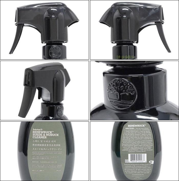 Timberlandティンバーランドのケア用品  Renewbuck Suede And Nubuck Foam Cleaner02