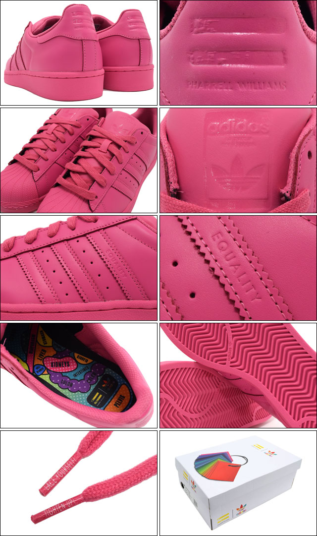 Adidas Superstar Pink Pharrell Williams