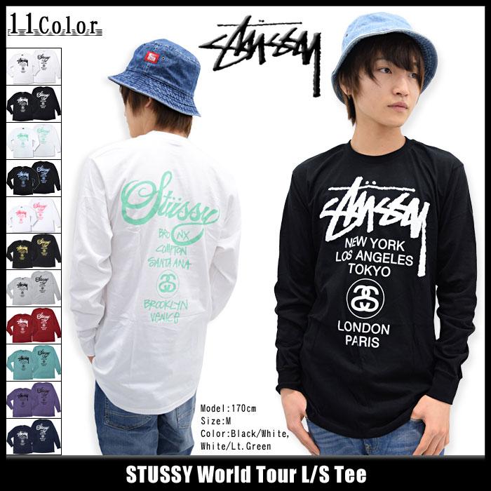 STUSSYステューシーのTシャツ ワールドツアー01