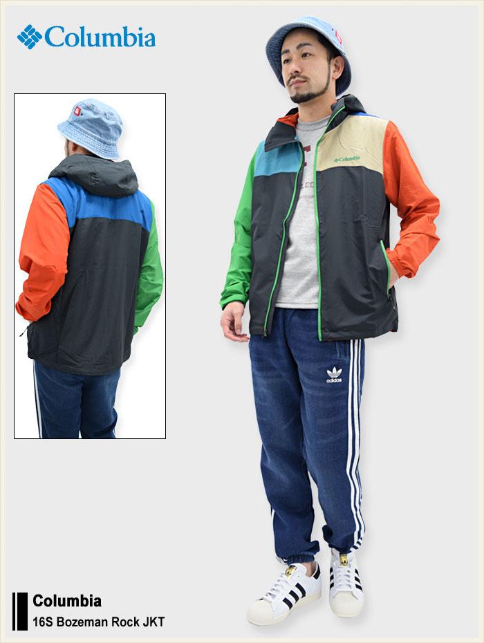 Columbiaコロンビアのジャケット Bozeman Rock01