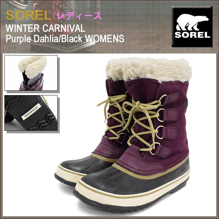 SORELソレルのブーツ WINTER CARNIVAL01