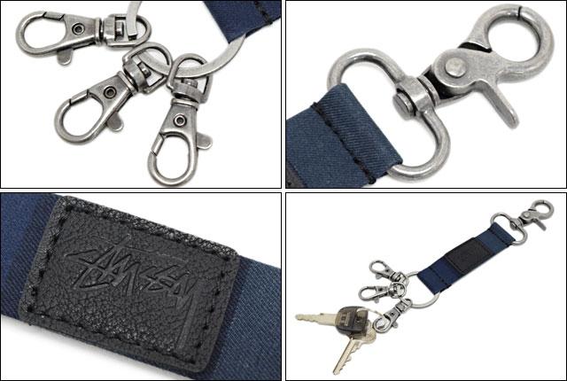 stussy croc keychain