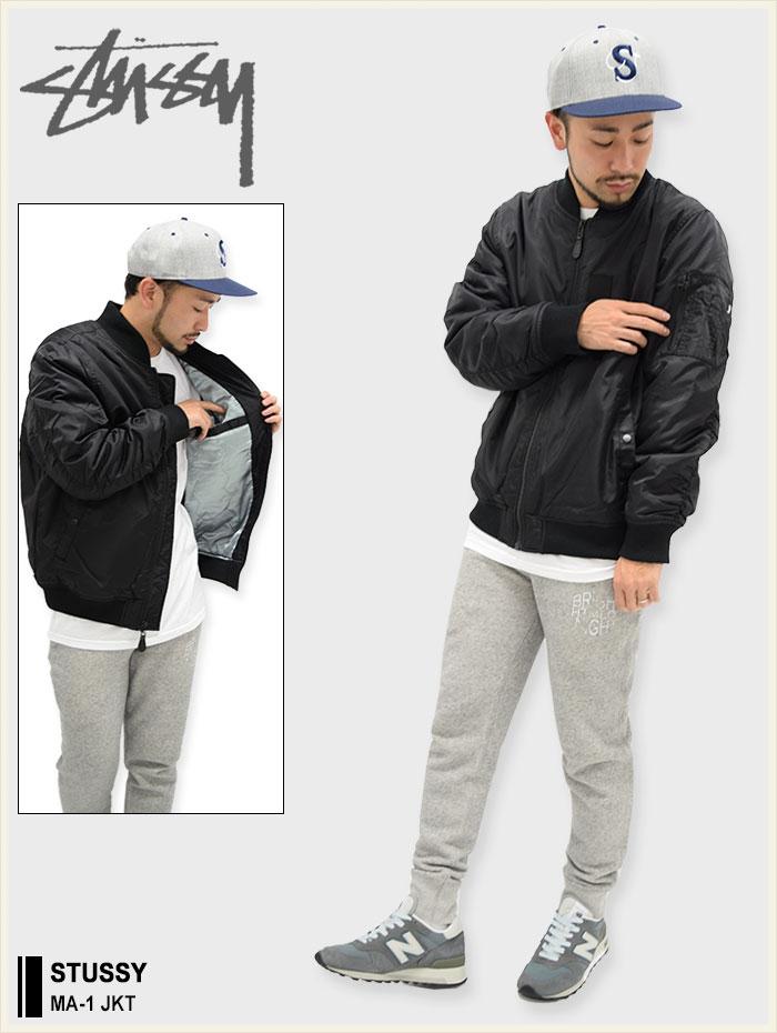 STUSSYステューシーのジャケット MA-1 01