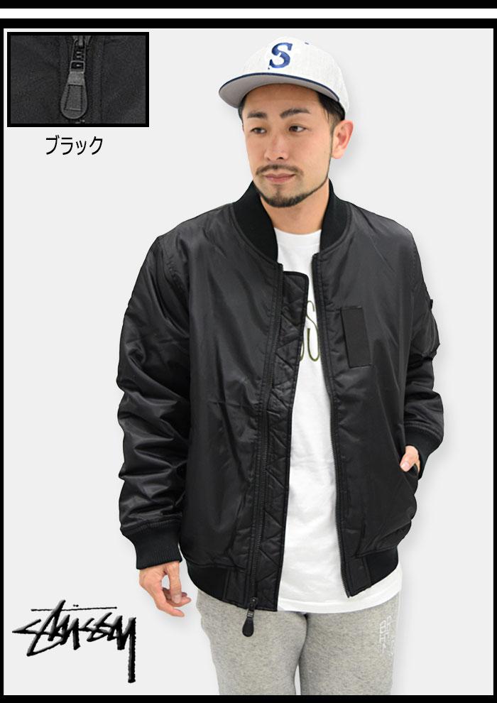 STUSSYステューシーのジャケット MA-1 03