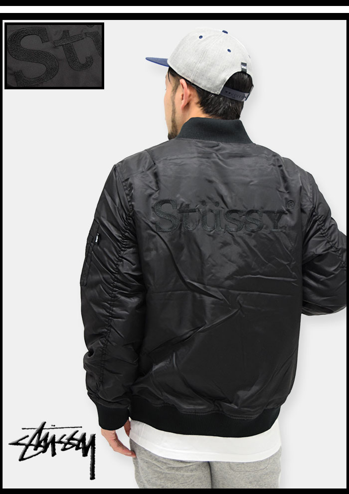STUSSYステューシーのジャケット MA-1 04