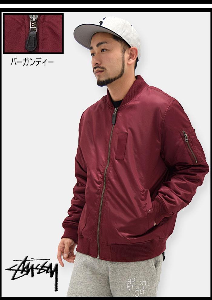 STUSSYステューシーのジャケット MA-1 05