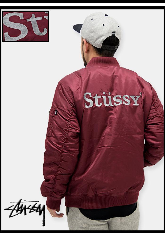 STUSSYステューシーのジャケット MA-1 06
