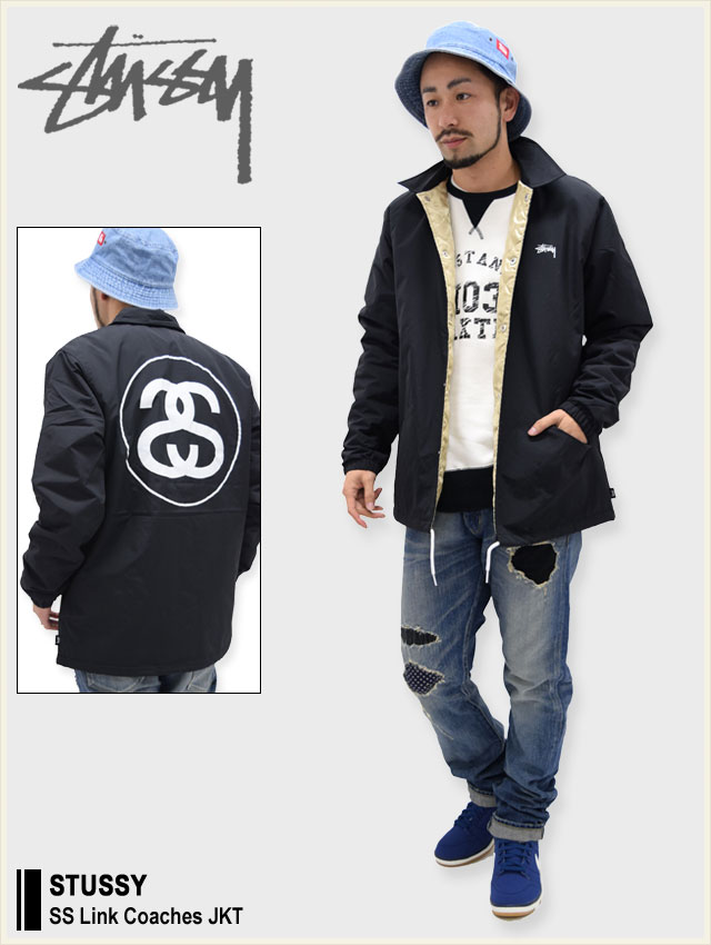 STUSSYステューシーのジャケット SS Link Coaches01