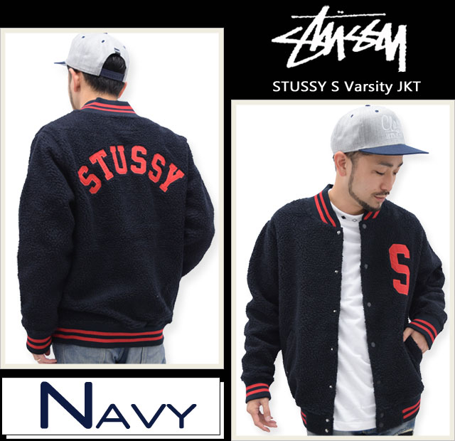 STUSSYステューシーのジャケット S Varsity01\4