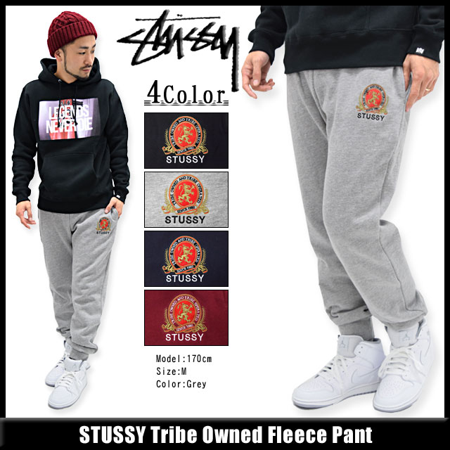 STUSSY���ƥ塼�����Υѥ�� Tribe Owned Fleece01
