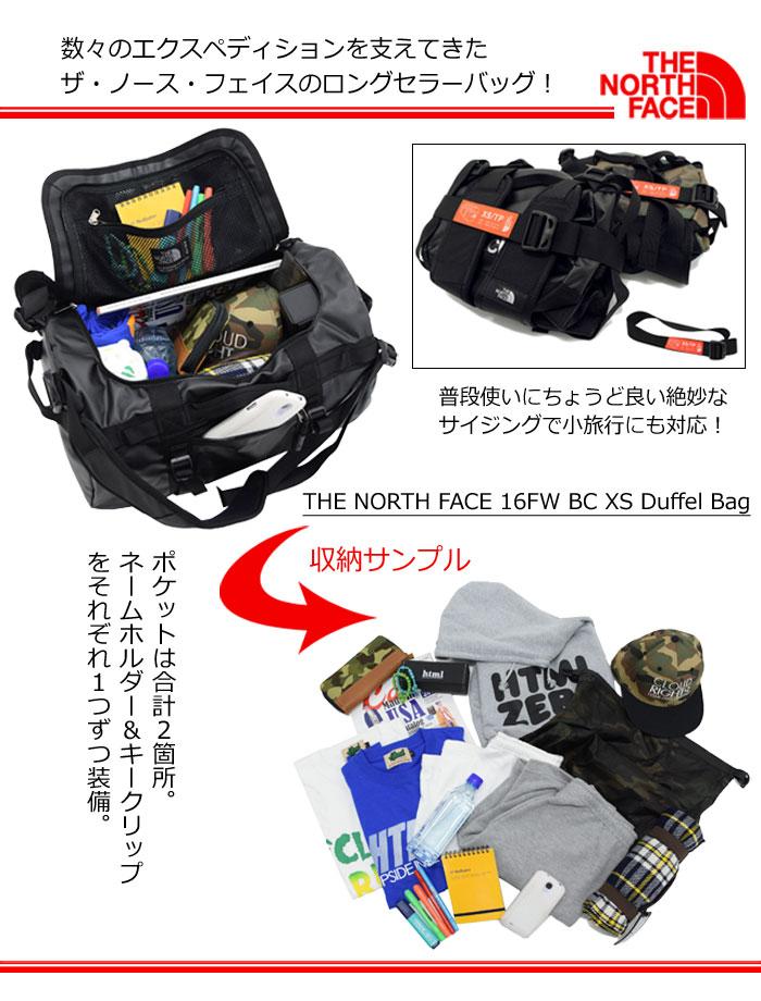 THE NORTH FACEザ ノースフェイスのバッグ 16FW BC XS Duffel03