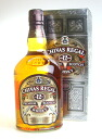 1,000 ml of Chivas Regal 12 years 40 degrees Bullen dead whiskey 02P01Sep13
