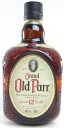 MHD Old Parr aged 12 years 750 ml blended whiskey