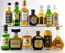 14 whiskey miniature BEST selection sets (Suntory Nikka bourbon Irishman) belonging to gift BOX