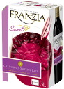 Slightly sweet franzia スイーティーレッド Wayne top box wine 3000 ml 3 l 3 l 02P01Sep13