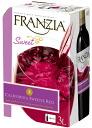 Slightly sweet franzia スイーティーレッド Wayne top box wine 3000 ml 3 l 3 l 02P01Sep13