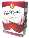 Carlo-Rossi box wine red 3000 ml bag-in-box 3 l カルロロッシ