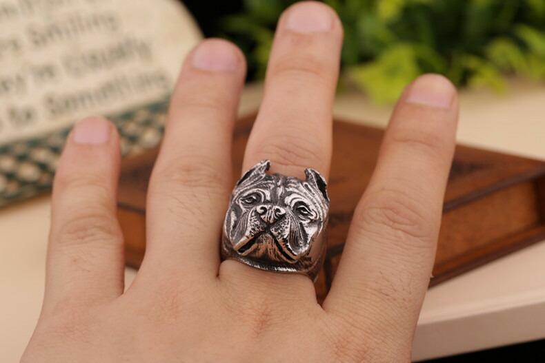 ピットブルリング指輪