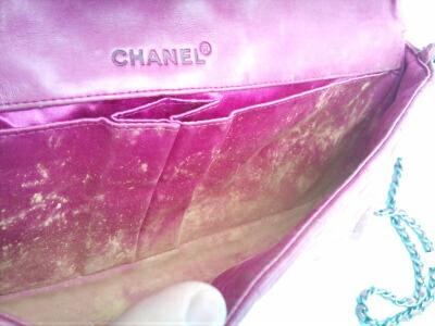シャネルピンク財布