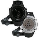 Suunto Ambit 2 HR BLACK (Suunto アンビット 2 HR Black / Silver)-heart with gauge-