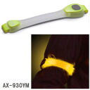 Gents LED safety band (yellow) AX-930YM neon type «correspondence»