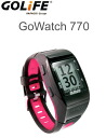 GOLiFE GPS functionality with GoWatch770 sport watch pink