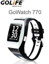 GOLiFE GPS functionality with GoWatch770 sports watch white