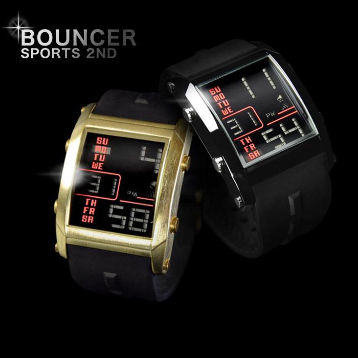 メンズ デジタル 腕時計 BOUNCER 2nd(バウンサーセカンド)