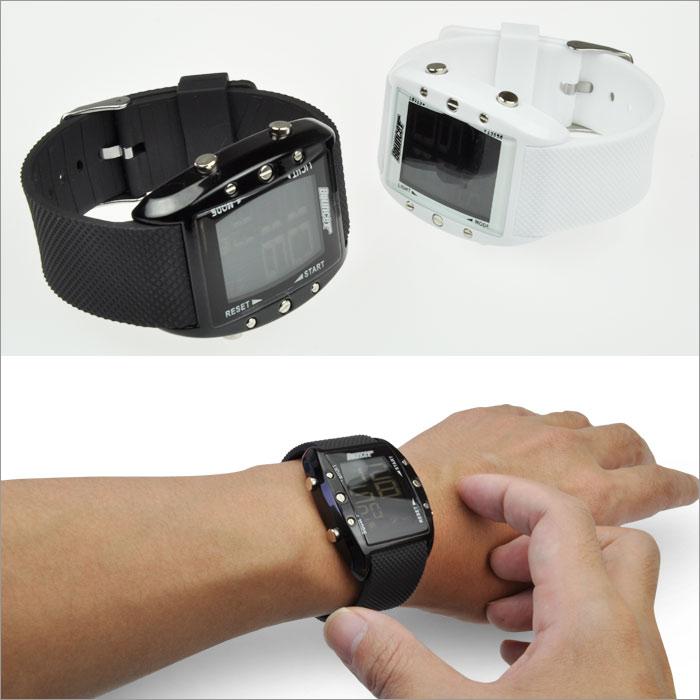メンズBOUNCERバウンサー/デカデジ腕時計