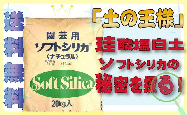 「土の王様」珪酸塩白土ソフトシリカの秘密を探る!