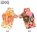 iDog IDOG crepe nadeko kimono flower M flight 2 / 3